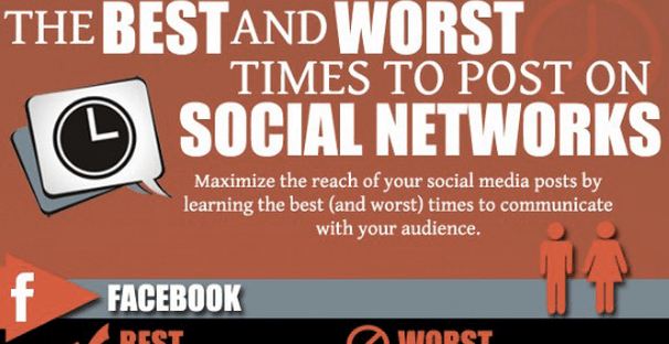 best and worst times to post on social media thumbnail