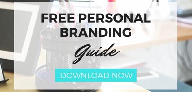 FREE PERSONAL BRANDING GUIDE