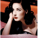 When a thin waist is ENOUGH: Dita Von Teese