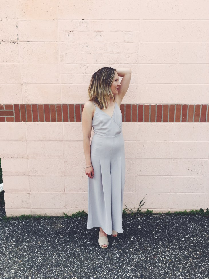 WHEN IN NEW YORK- GREY JUMPSUIT