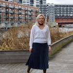 Pleated Midi Skirt + Monday Mode Link Up