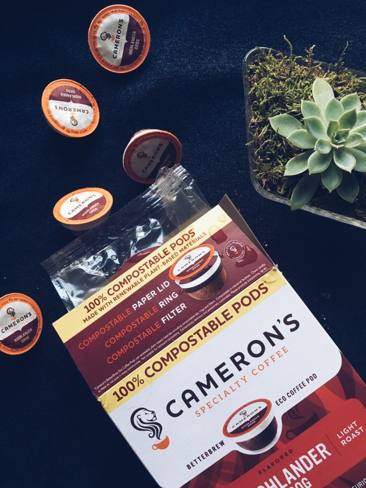 Cameron's Coffee 100% Compostable Pods
