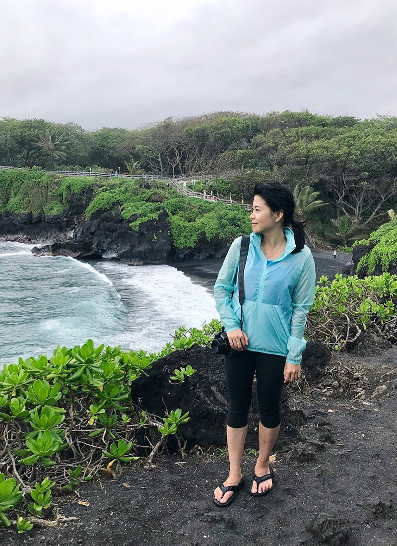 Outfit of the Day: Waianapanapa State Park