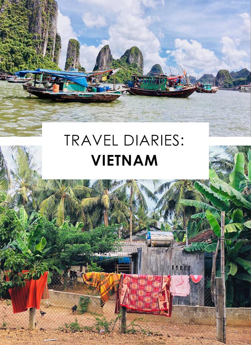 Vietnam Travel Recap