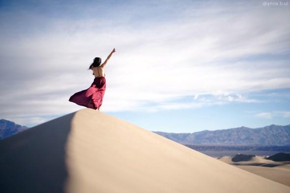 BeInspireful - Death Valley Mesquite Flat Sand Dunes - 10