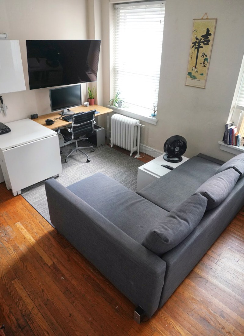 Micro Studio Tour / Apartment in the City / 240 sq. ft. (Updated!)