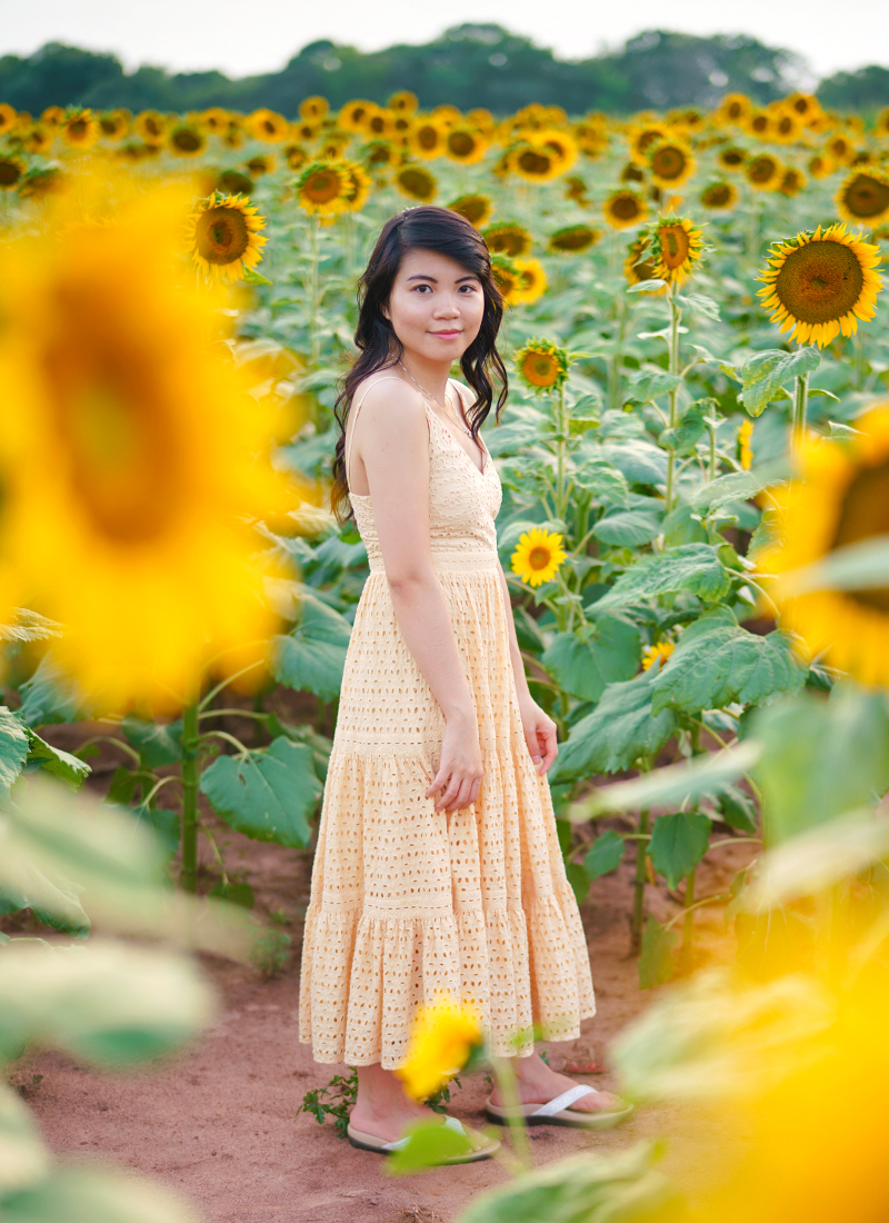 Outfit Inspo: Sunflower Field Yellow Dress