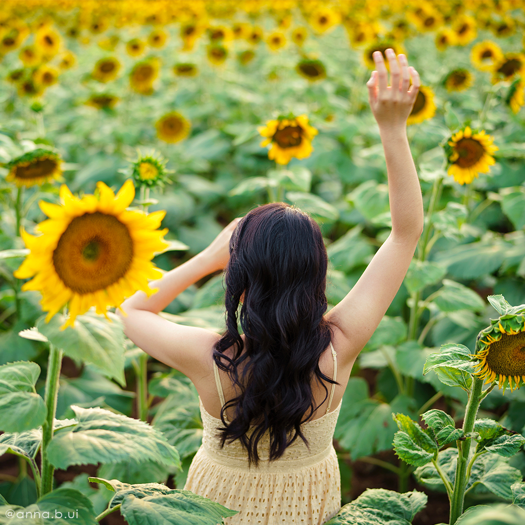 BeInspireful - Sunny Sunflower Field Yellow Dress 2