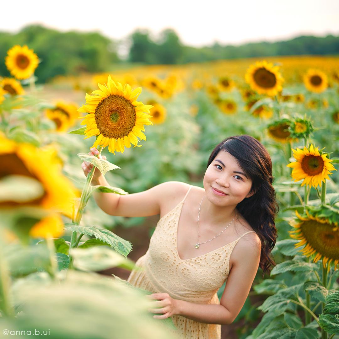 BeInspireful - Sunny Sunflower Field Yellow Dress 5
