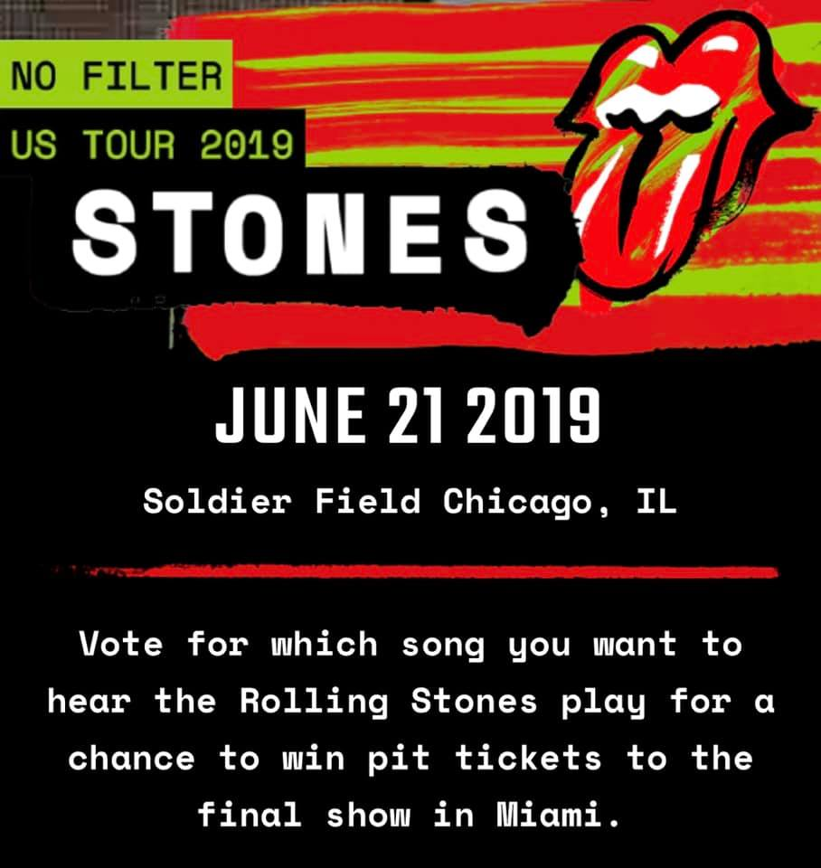 In The Loop Magazine The Rolling Stones No Filter Tour 2019