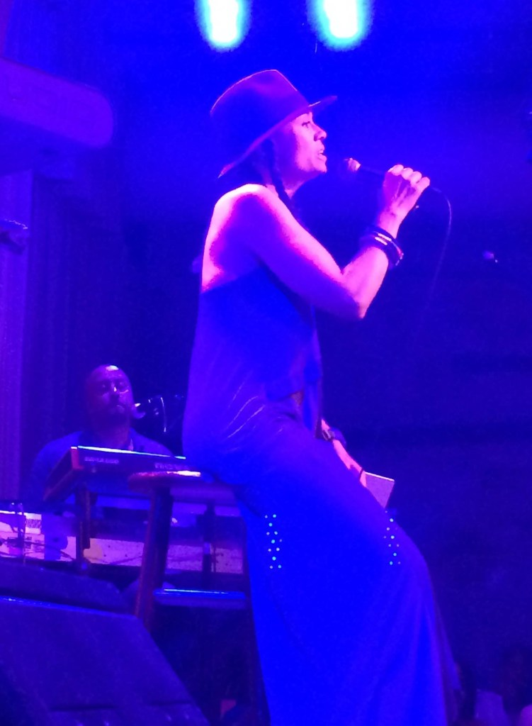 Amel Larrieux At City Winery 08-09-15
