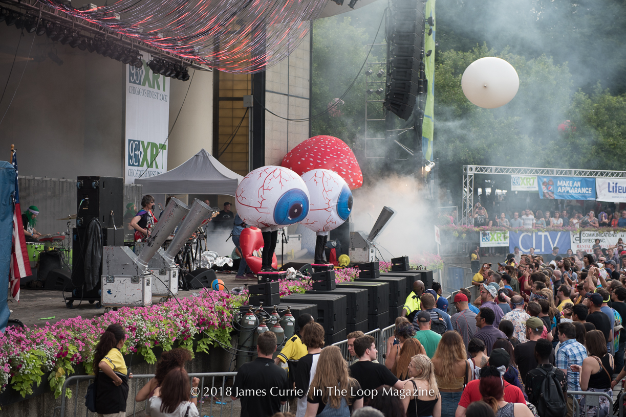 In The Loop Magazine Flaming Lips Live In Chicago At Taste Of