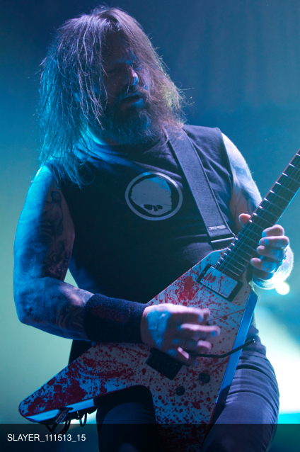 Gary Holt Slayer in Chicago