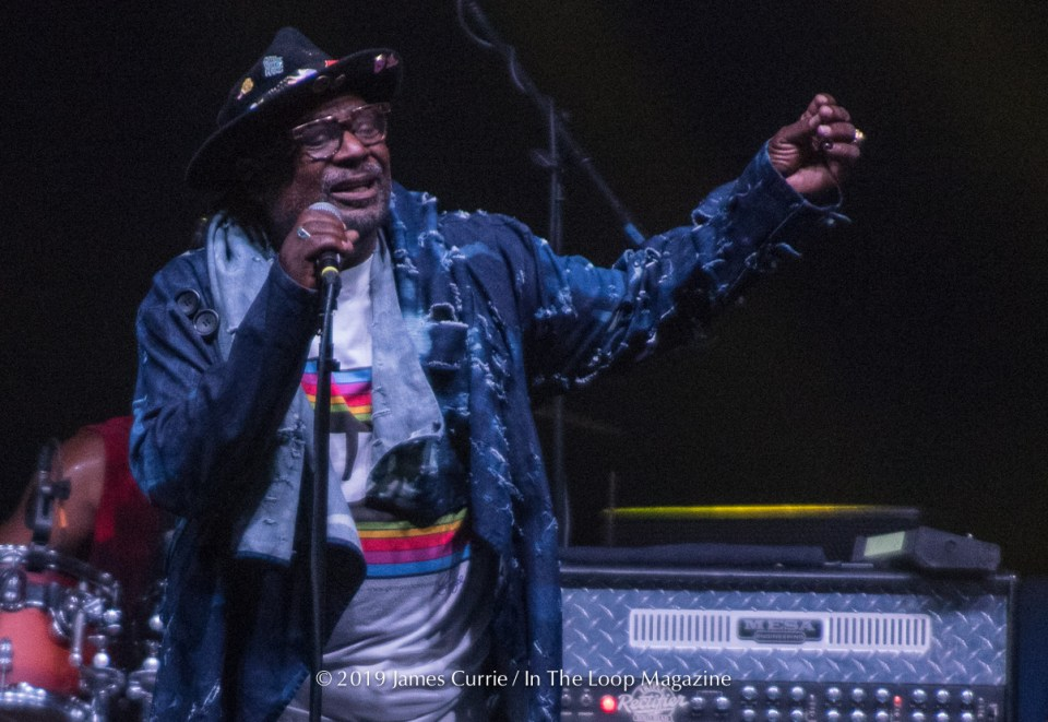 In The Loop Magazine George Clinton's P-Funk Demolishes Aragon Stage