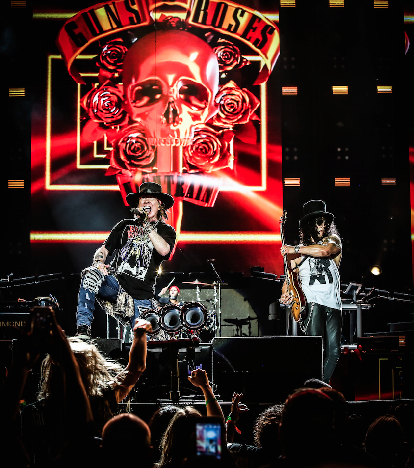 Guns N Roses at Soldier Field Chicago July 3 2016 2