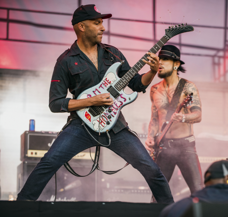 Janes Addiction with Tom Morello at Lollapalooza 2016 1