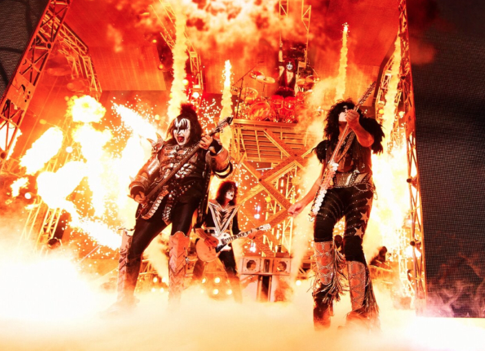 KISS live Chicago Rockford Tour 2016