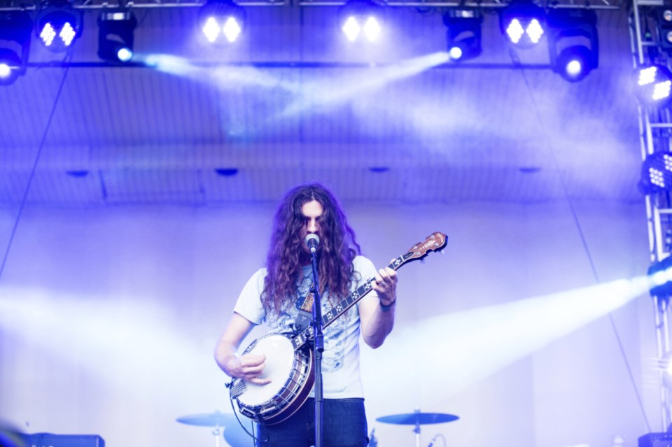Kurt Vile and the Violators at Lollapalooza 2016