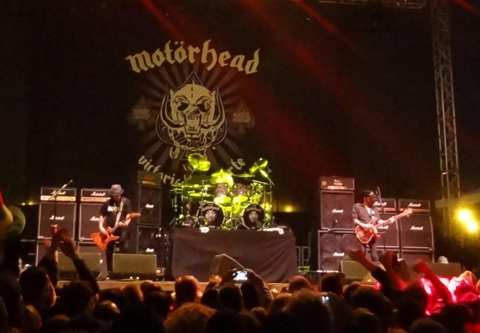 Motorhead at Riot Fest 2015