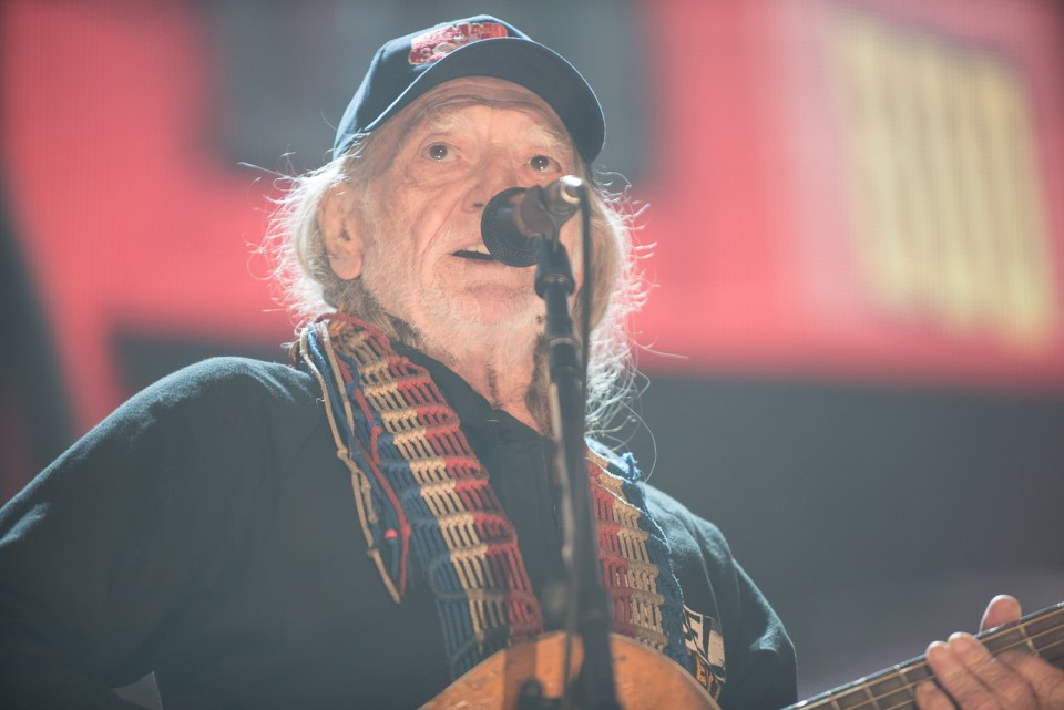 Willie Nelson at Farm Aid 2015-6