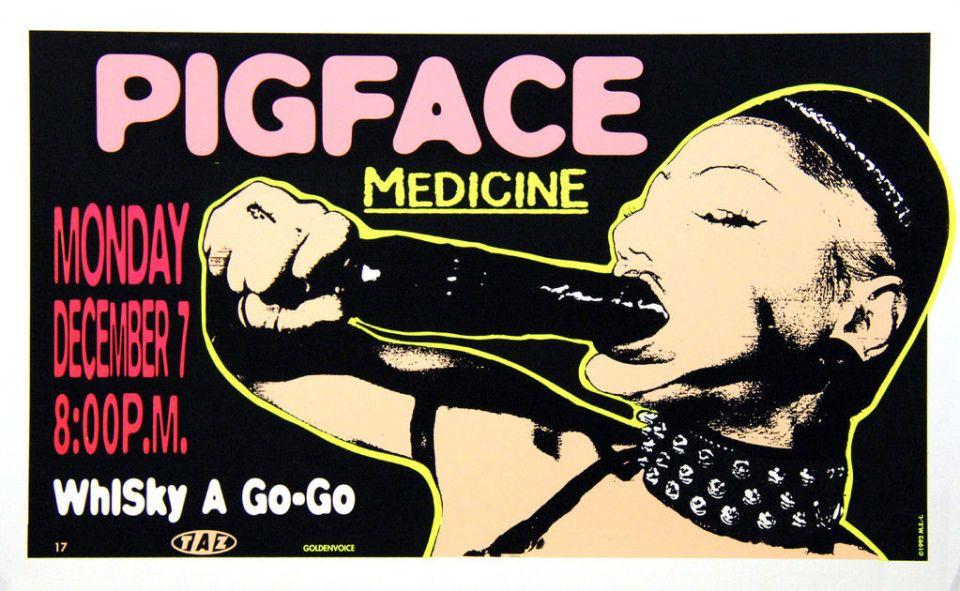 pigface medicine poster