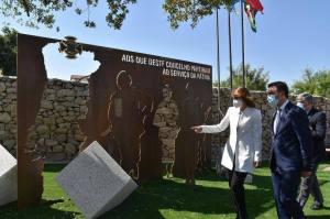 Inauguração do monumento em homenagem aos Combatentes no Ultramar do concelho de Pinhel