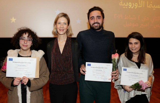 Three young Lebanese win European short film competition