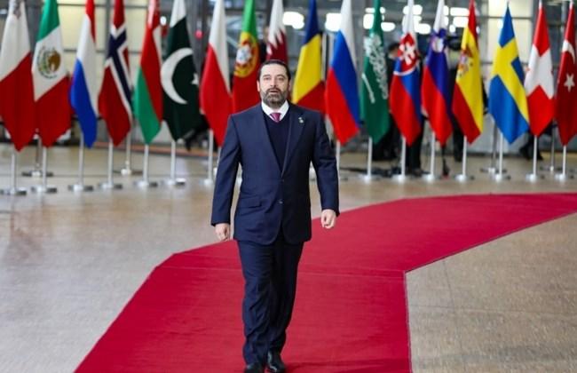 Hariri requests $2.9B for Syrian refugee returns