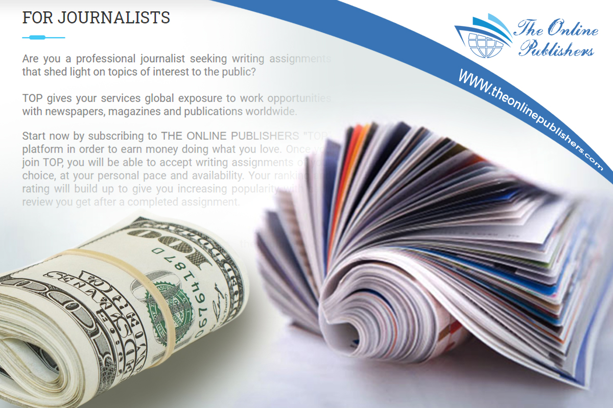 A Chance To Make Money Online With Freelance Journalism
