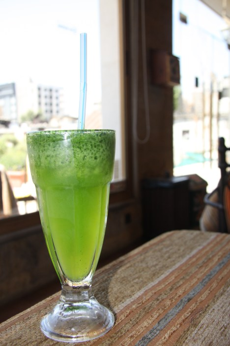 Mint Lemonade, Damascus, Syria