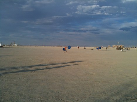 Burning Man, Black rock Desert