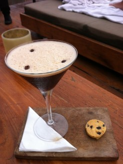 Espresso Martini - Jamaican Coffee Liqueur, vodka, cane sugar, espresso and vanilla foam