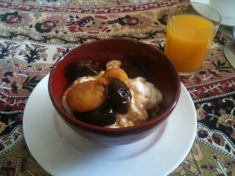 Earl Grey Soaked Fruits