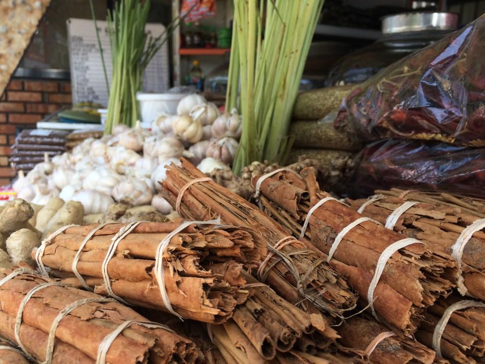 Stunning fresh spices in Sri Lanka
