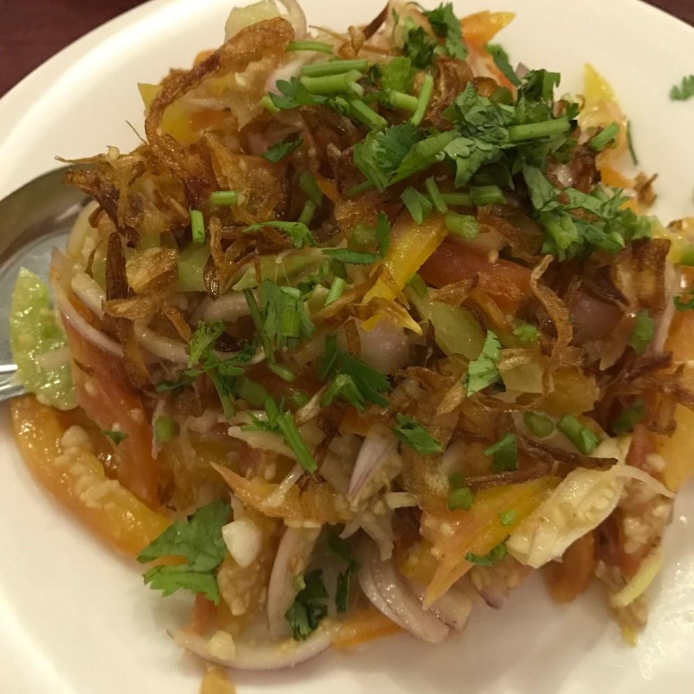 Shan Tomato Salad