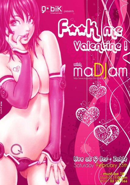 F*** me Valentine with maDJam