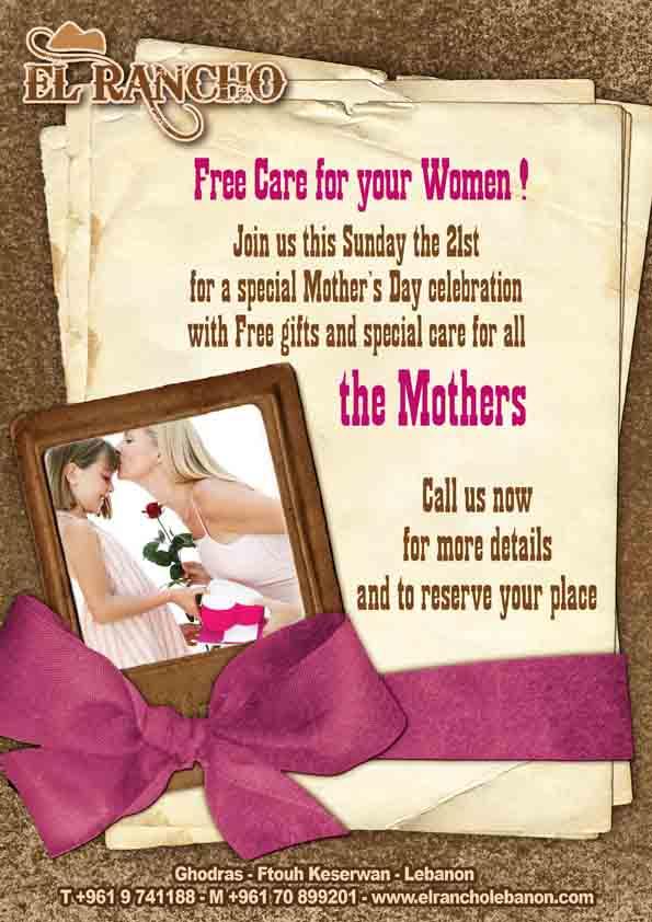 El Rancho Mothers Day