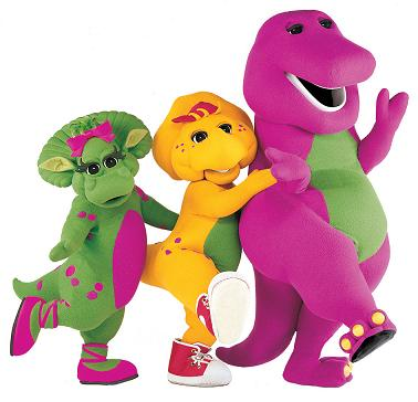 Barney Let's Imagine Live Tour