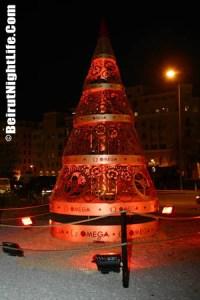 Downtown Beirut Christmas 2004