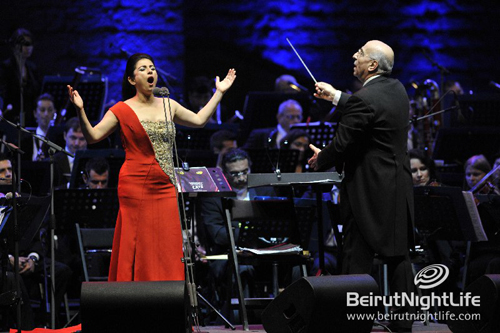 Walid Ghlomieh opens for Beiteddine Festival 2010