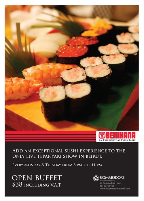 open sushi buffet at benihana bnl rh beirutnightlife com benihana all you can eat sushi el salvador benihana all you can eat sushi panama