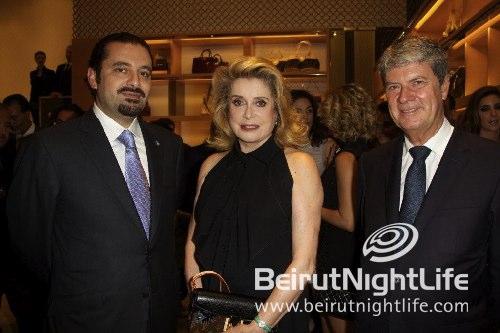 Celebrating Louis Vuitton Opening