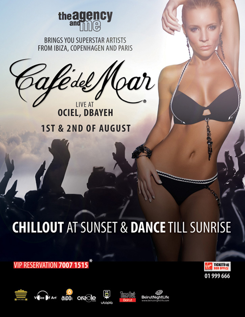 Cafe Del Mar Live in Beirut