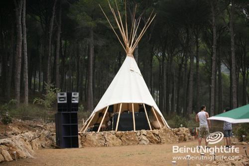 Audiopiknik in the Woods of Kseibeh