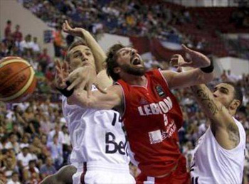 1..2..3.. LEBANON!! National Team defeats Canada in 2010 FIBA World Championship