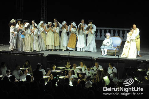 Byblos International Festival 2010: Le Nozze di Figaro