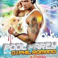Pool Party with DJ PHIL ROMANO at Senses Club