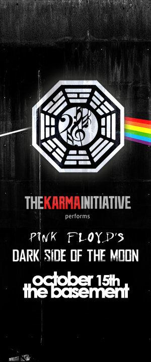 The Karma Initiative 'Dark Side of the Moon'
