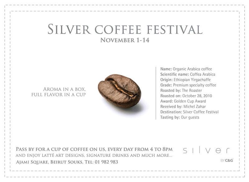 Silver Coffee festival