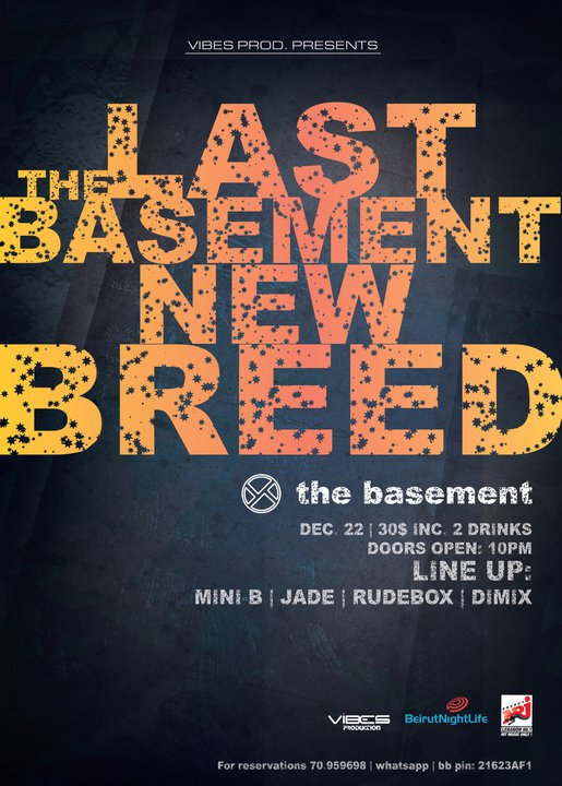 Vibes Prod Pres The Last Basement New Breed At The Basement